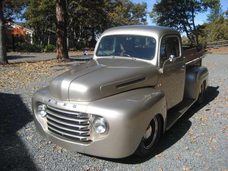 1949 Ford F1 Pickup Pickup trucks, 1950 ford pickup