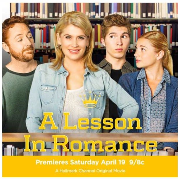 """Its a Wonderful Movie - Your Guide to Family Movies on TV: Hallmark Channel Movie """"A Lesson in Romance"""""""