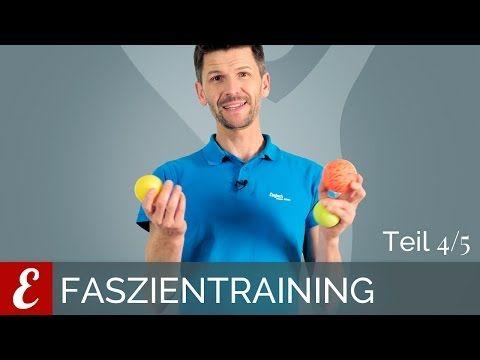 Faszientraining — Übungen mit dem Faszienball (Die besten Faszienübungen, Folge 4/5) - YouTube