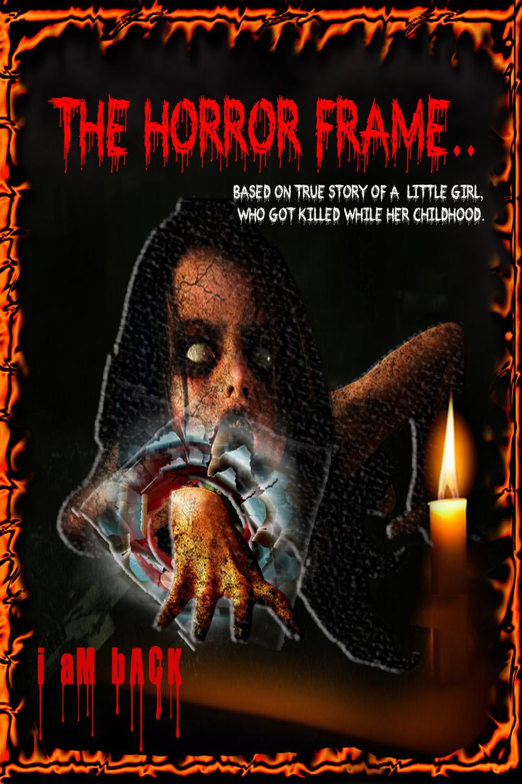 Horror movie's poster.