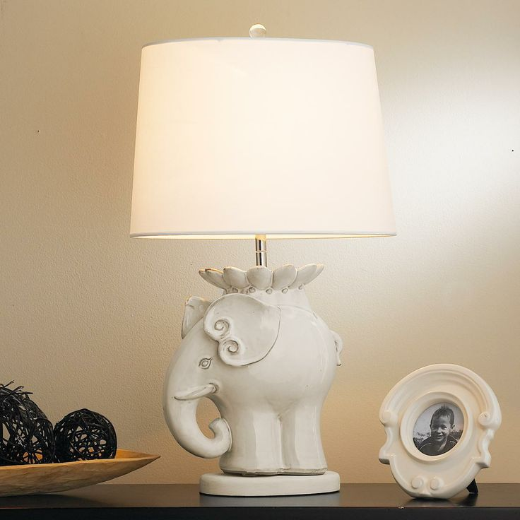 inspirational giraffe or elephant lamps white lamp base for table lavender floor small baby nursery