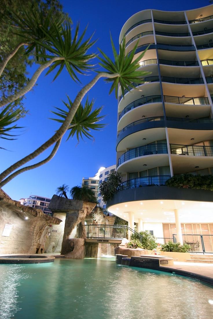 Landmark Resort Hotel, Mooloolaba, Australia.