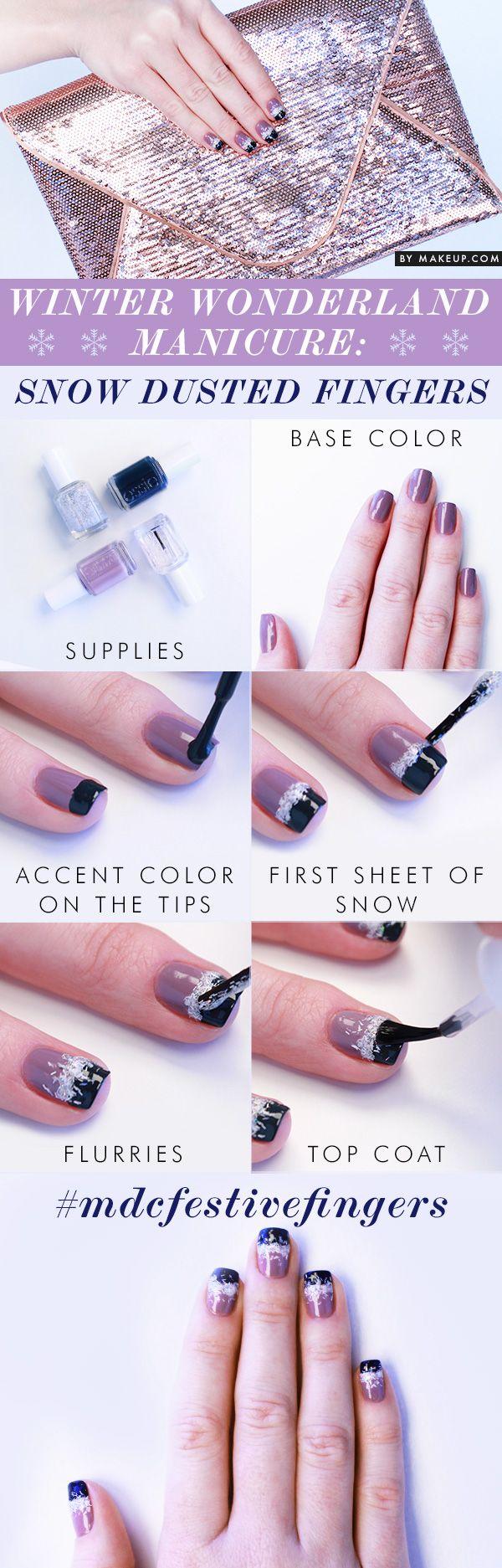 Festive Fingers Holiday Giveaway + Nail tutorial #nailart