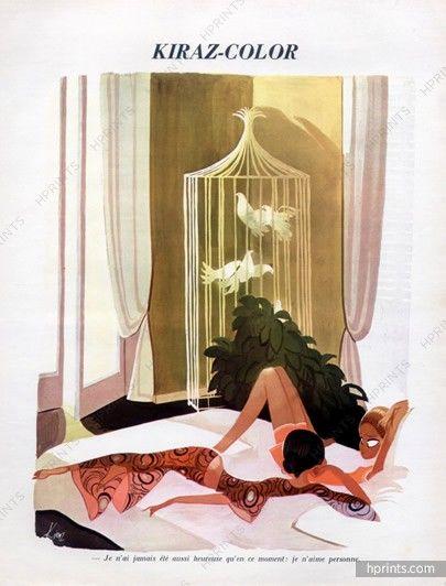 Edmond Kiraz 1969 Les Parisiennes