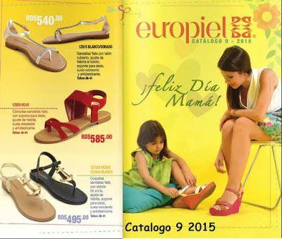 Catalogo de Zapatos Europiel Campaña 9 2015