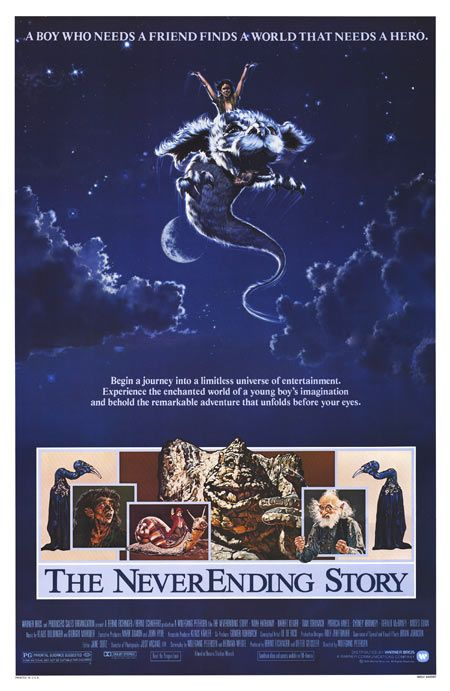 The NeverEnding Story (1984), I loved this movie as a kid.....Wait, I still do.