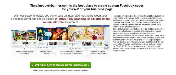 Facebook Cover Photo   Timeline Cover Maker   Facebook Banner Creator