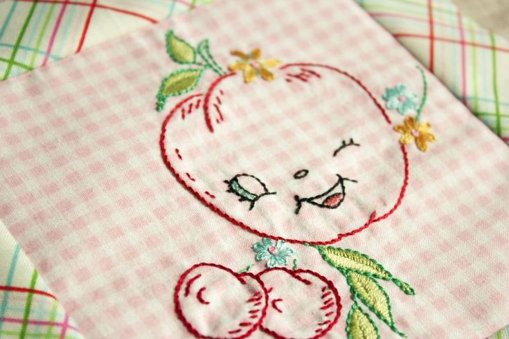 On gingham embroidery stitches ideas pinterest