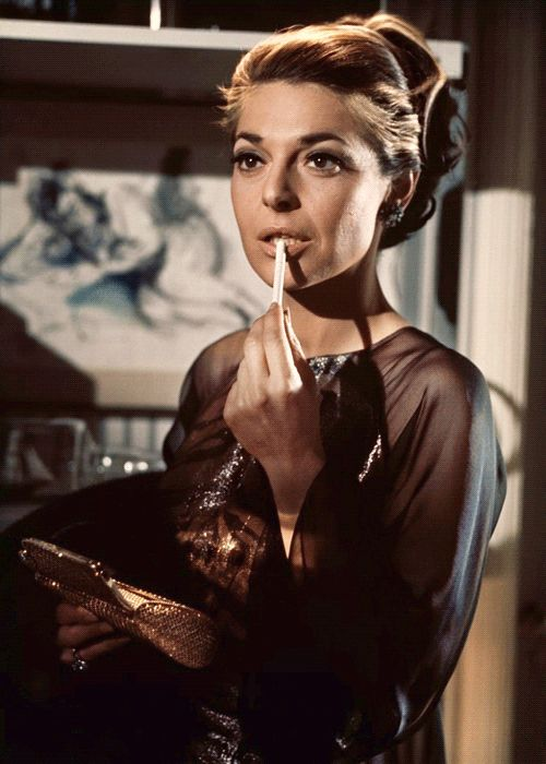 Ann Bancroft in fabulous '60's ensembles,  Mrs. Robinson....in 'The Graduate'.