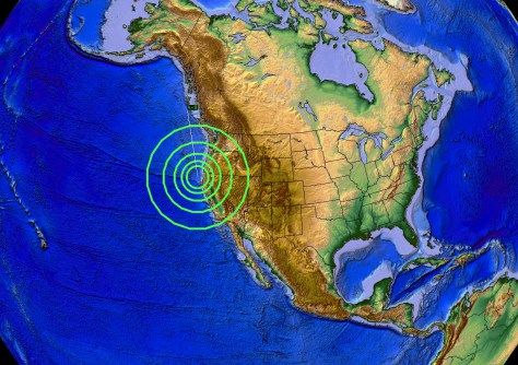 https://www.facebook.com/DutchsinseOfficial/posts/1049731881745902 Dutchsinse-   California Earthquake Alert: Warnings were issued a full week prior for the coast of NW California along the Gorda Escarpment.... today the earthquake struck... Warned for a M4.0 to M5.0 to strike the area.. now a M4.8 earthquake hits. NW CALIFORNIA STRUCK — M4.8 EARTHQUAKE HITS INSIDE WARNED ZONE @ GORDA ESCARPMENT - 12/29/2015 -