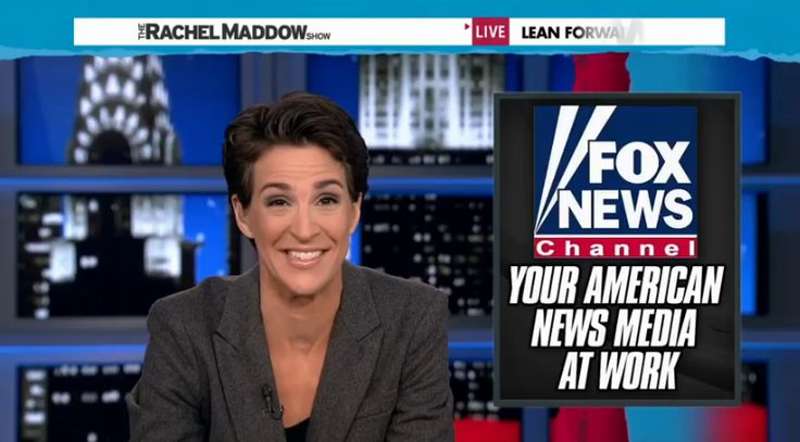 Rachel Maddow Is Now Growing 3 Times Faster Than Fox News As Her Ratings Surge