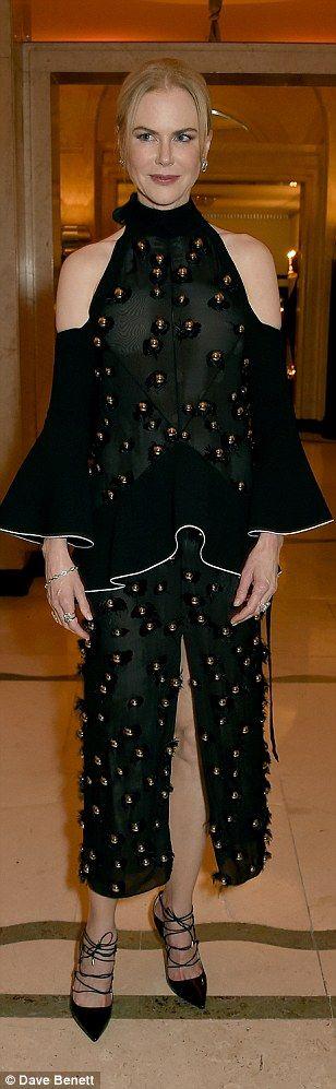 Kate Winslet Lara Stone and Sienna stun at Harper's Bazaar Awardss