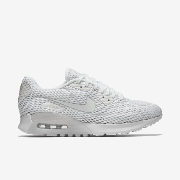 524b3ab7a2 ... White Tênis Nike Air Max 90 Ultra Breathe Feminino Nike ...