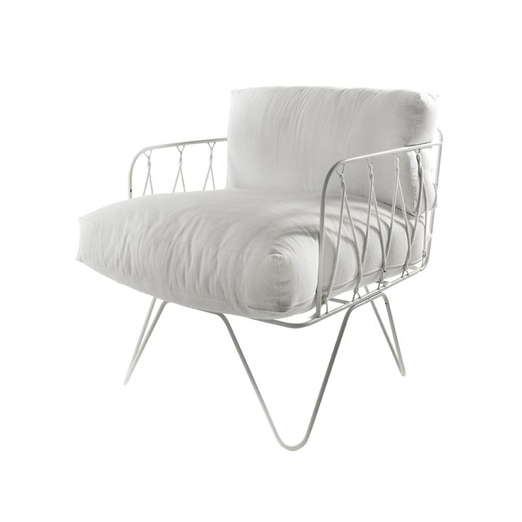 Serax Honore armchair - White
