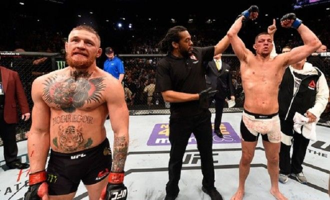 If You Missed It – Here Is Nate Diaz Beating Conor McGregor At UFC 1
