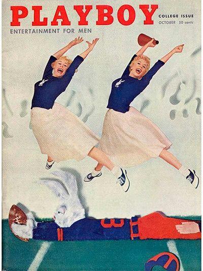 Playboy November 1956 Back Issue Volume 3 Number 11 Betty Blue Full Centerfold