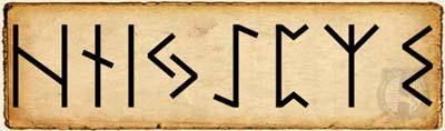 Runas - Haglaz - Alfabeto Rúnico segundo Aett