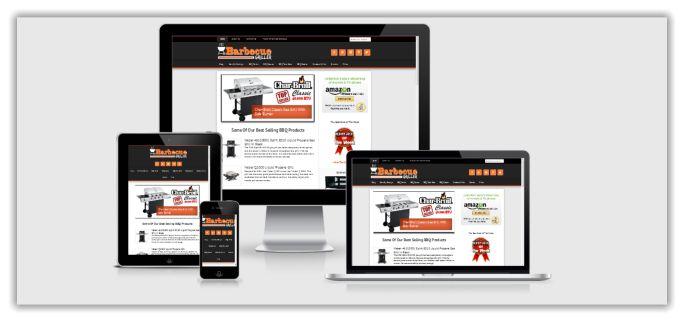 Barbecue Niche Website For Sale