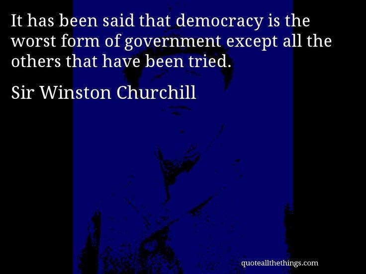 Winston Churchill Politics Quotes & Sayings