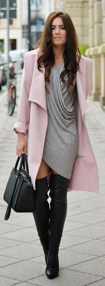 Nelly Grey Sleeveless Wrapped Dress by Stylish !