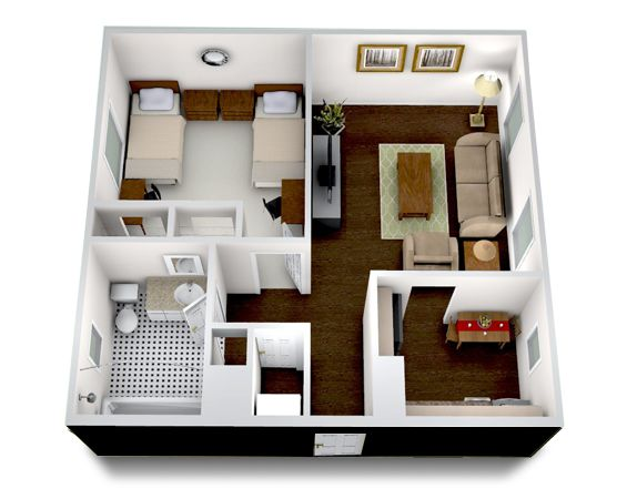 One Bedroom We Hope Towson Place Apartments Will Be Where You Call Home Floor Plans One Bedroom Home