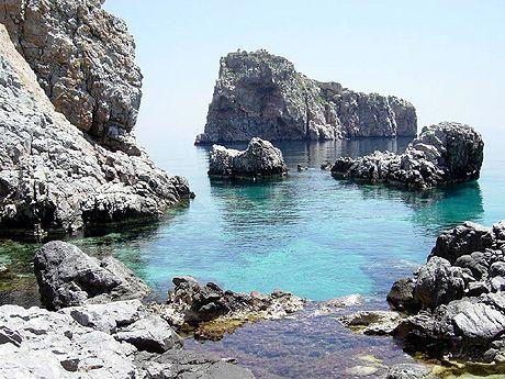 Mouros beach, Amorgos.