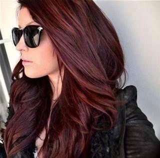 deep auburn hair color - Bing Images
