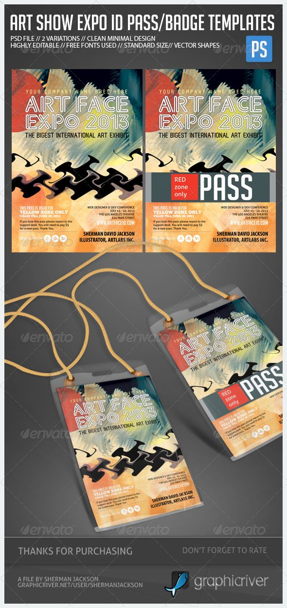 event name tag template - 11 best images about credential badge on pinterest