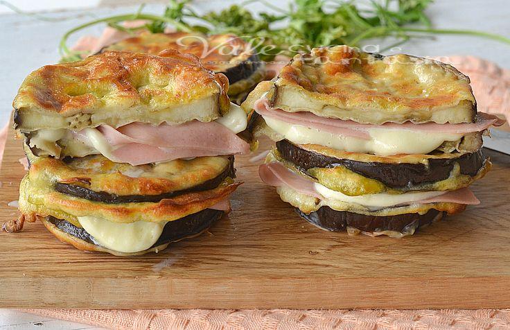 Melanzane pastellate al forno con mortadella e mozzarella, un piatto ricco e gustoso, semplice e sostanzioso,un secondo sostanzioso che si scioglie in bocca