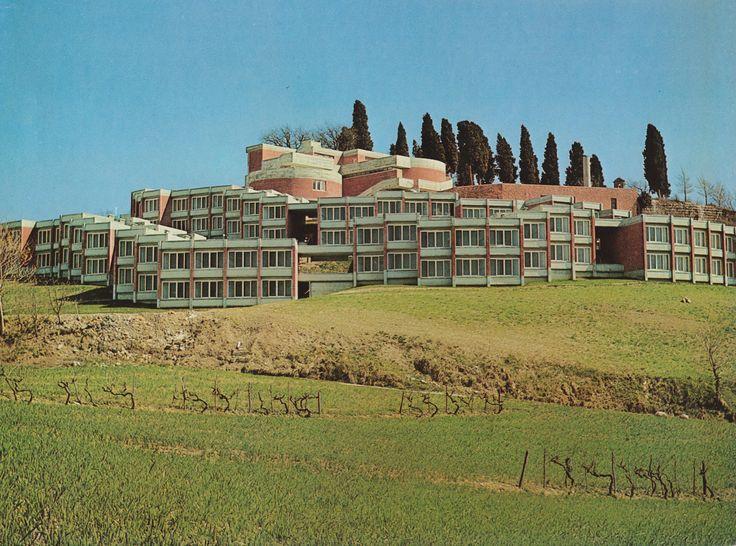 Student Apartments, University College, Urbino, Italy, 1963-66 by Giancarlo De Carlo