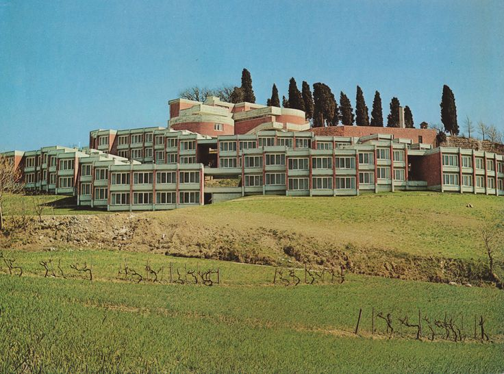 Student Apartments, University College, Urbino, Italy, 1963-66 by Giancarlo De Carlo