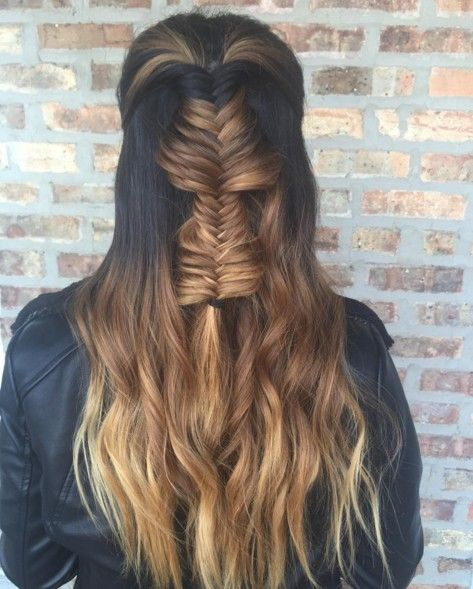 86 Best Half Up Half Down Hairstyles Images On Pinterest