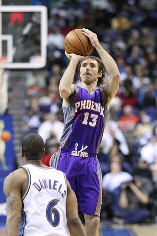 Steve Nash,  before he became a Laker. :(: Bball, Old School