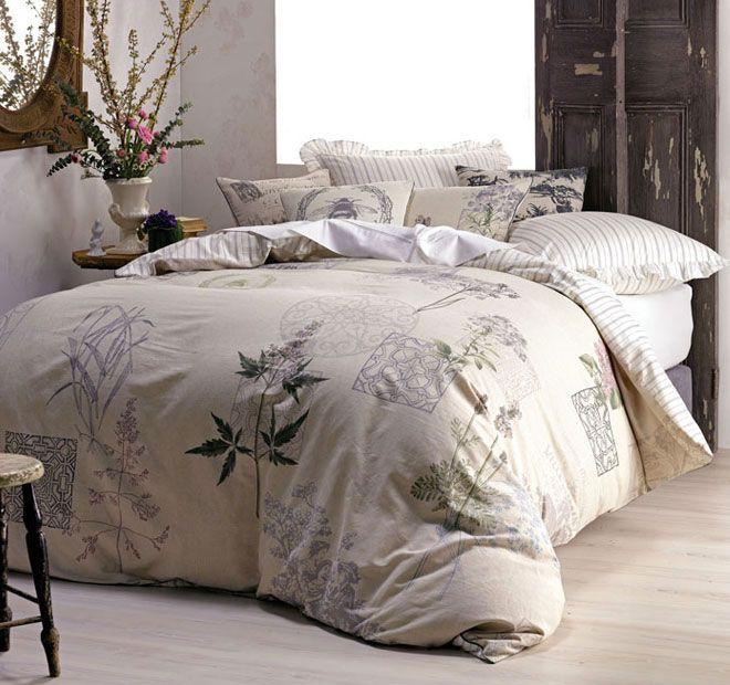 Marie Claire Guinevere Quilt Cover Set Range Linen