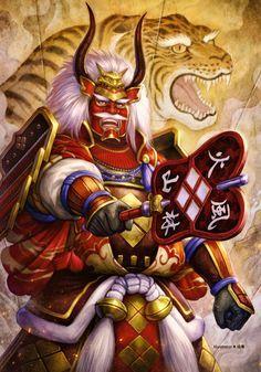 Shingen Takeda was first introduced in Samurai Warriors. He is the leader of the Takeda clan and rival of Kenshin Uesugi. Shingen wields a Gunbai. Richard Epcar - Samurai Warriors (English), Lateef Martin - Samurai Warriors 2 (English), Neil Kaplan - Samurai Warriors 3 (English), Daisuke Gōri - Samurai Warriors (Japanese), Ryūzaburō Ōtomo - Samurai Warriors 4 (Japanese)