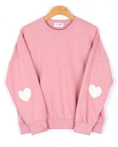 $28 inu inu Pink Heart Sweater