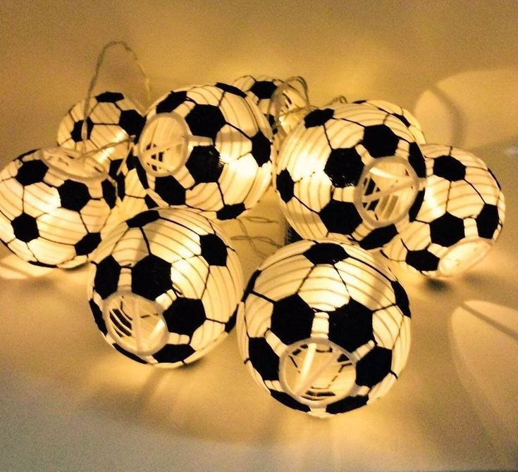 Uping Football Fairy Lights of Battery Operated |String Lights of Football 30  | eBay