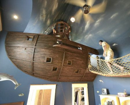 I don't care that this is for a kids room - I'm a big kid and would love this!!