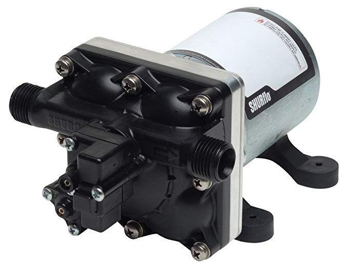 Shurflo 4028 100 E54 12v 2 3 Gpm Water Pump Rv Water Water Pumps Pumps