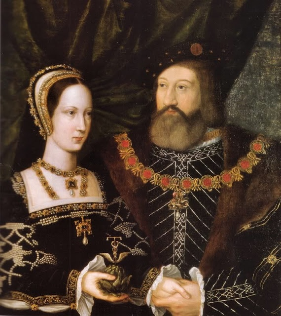 Mary Tudor and Charles Brandon Duke of Suffolk