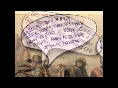 Vídeo-Comic. Historia del arte precolombino y el siglo XIX frente al significado de las romerías y peregrinaciones a los Dioses.