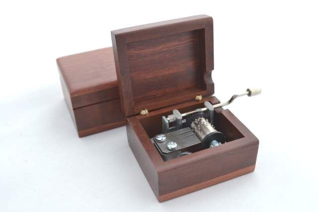 #Jarrah music boxes, wind up and crank handle.  Playing Waltzing Matilda and Happy #Birthday tunes. www.ozwood.com.au