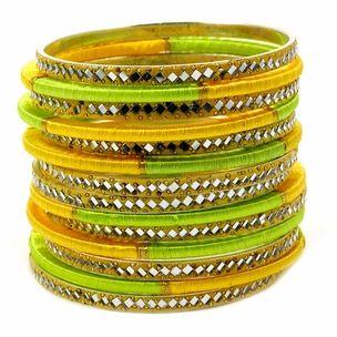 Sienna Stacked Thread Bangle Set http://blossomboxjewelry.com/b1169.html
