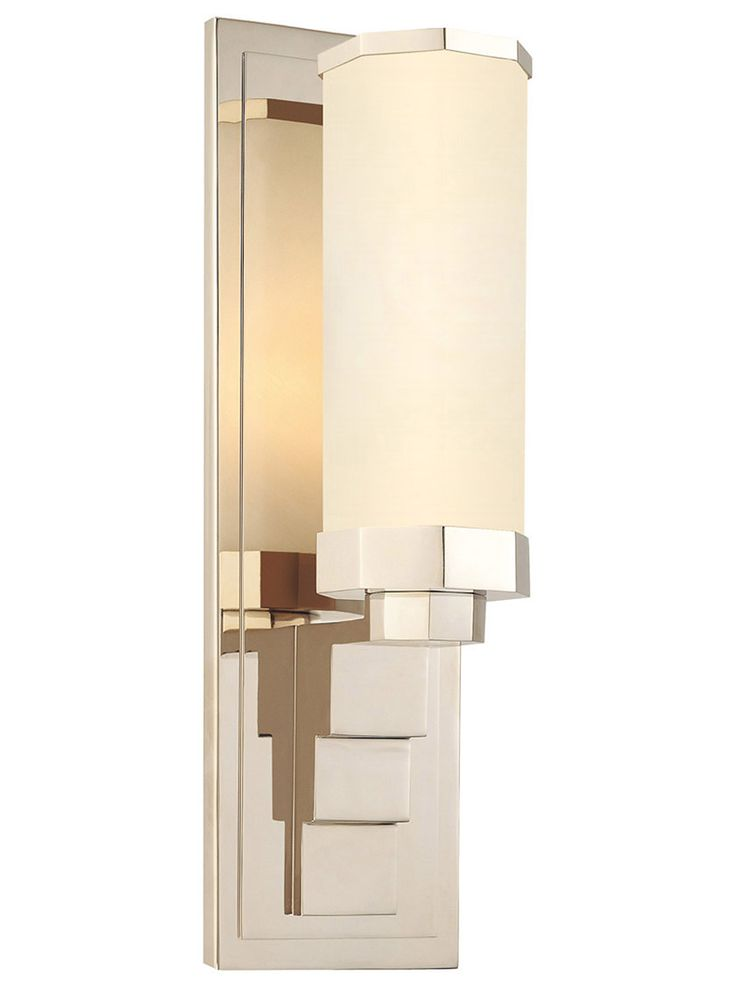 Scala 1 Light Sconce in Polished Nickel   House of Antique Hardware50 best sconces images on Pinterest   Sconces  Wall sconces and  . Bathroom 1 Light Sconces. Home Design Ideas