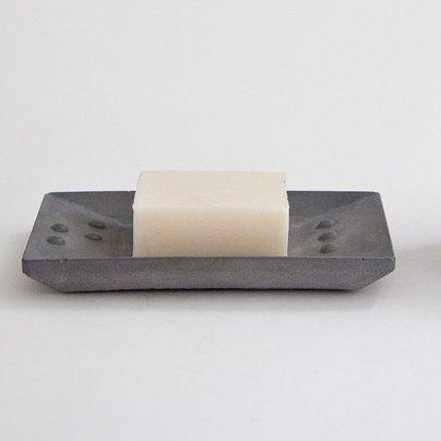 Concrete Soap Dish | ris Hantverk | Bathroom supplies | Concrete product design | Concrete design | Beton design | Betonlook | www.eurocol.com