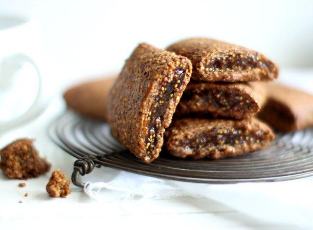 FIT KOLEŻANKA: Ciasteczka herbaciane z wanilią i figą.