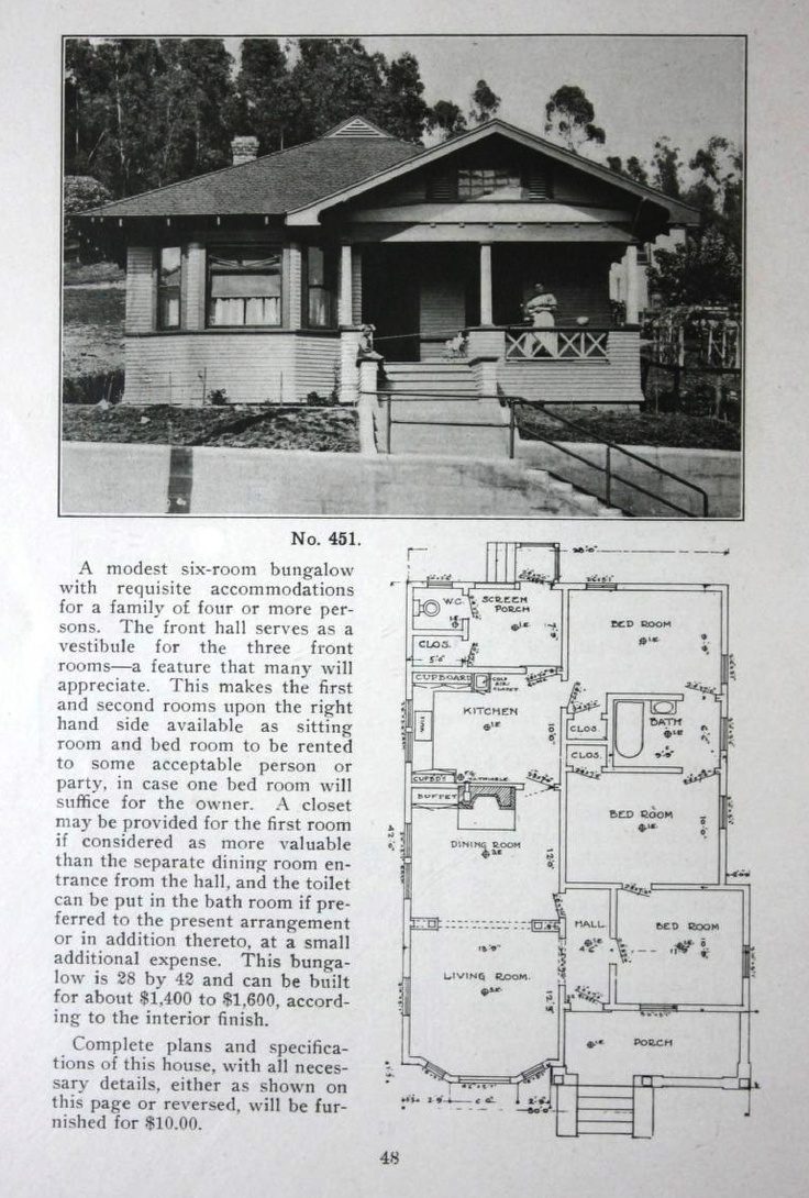 The bungalow book : a short sketch of the evolution of the bungalow from its primitive crudeness to its present state of artistic beauty and cozy convenience : illustrated with drawings of exteriors, floor plans, interiors and cozy corners of bungalows which have been built from original designs. : Wilson, Henry L. : Free Download, Borrow, and Streaming