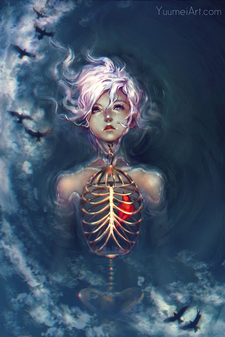 Caged Heart by yuumei.deviantart.com on @DeviantArt