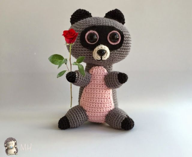 Oso Panda Amigurumi Patron Gratis : 138 best animales de la selva de ganchillo images on pinterest