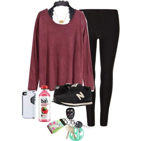 A fashion look from February 2017 featuring H&M sweaters, AllSaints leggings and Free People bras. Browse and shop related looks.